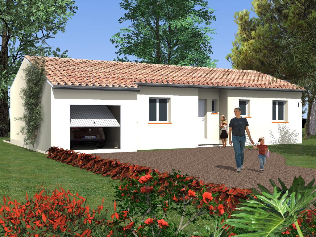 Villa T4 à Villefranche